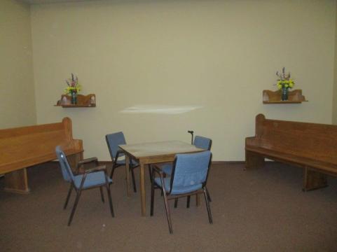 new meeting area