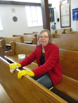 Cleaning church 006