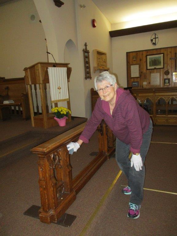 Cleaning church 007