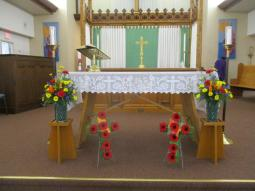Remembrance Day Altar