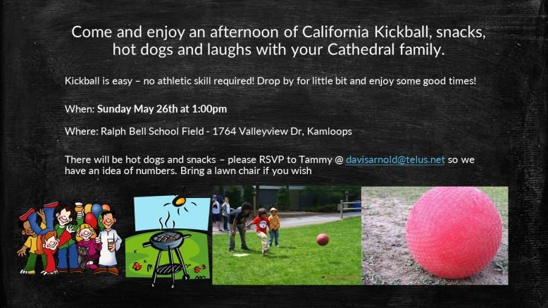 Kickball poster