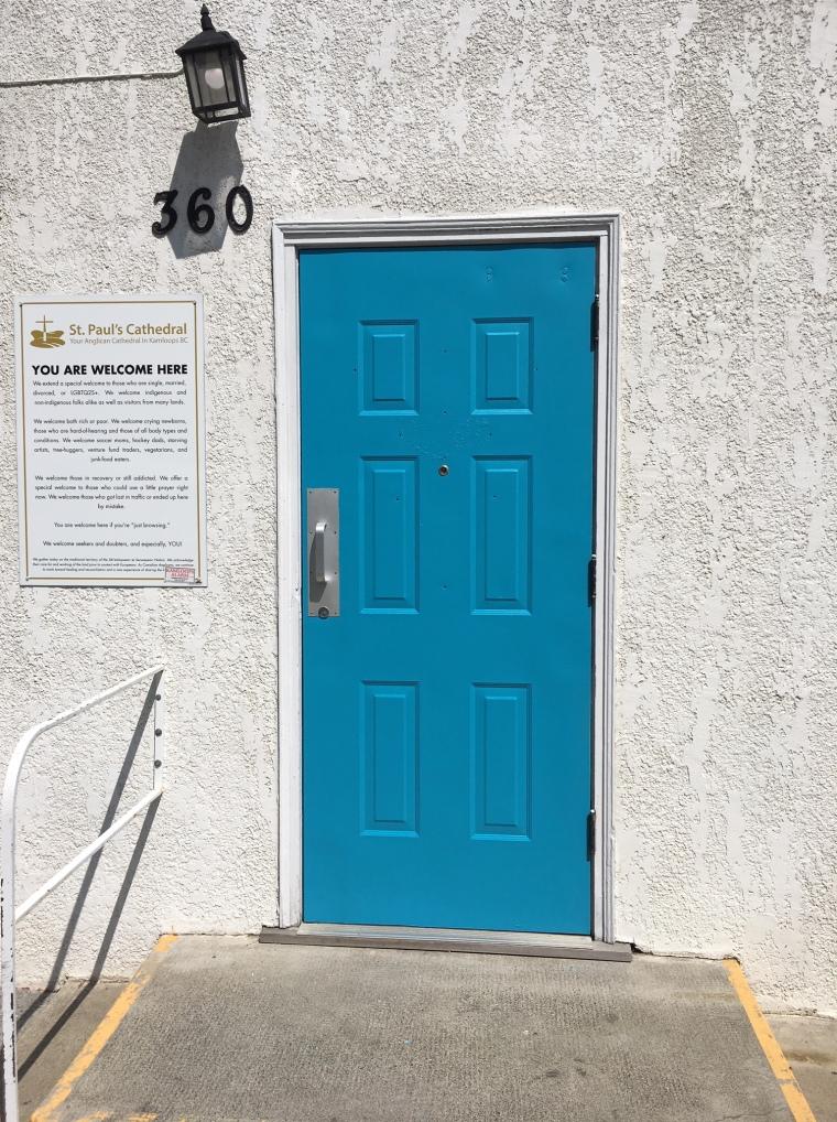 Out side door 2