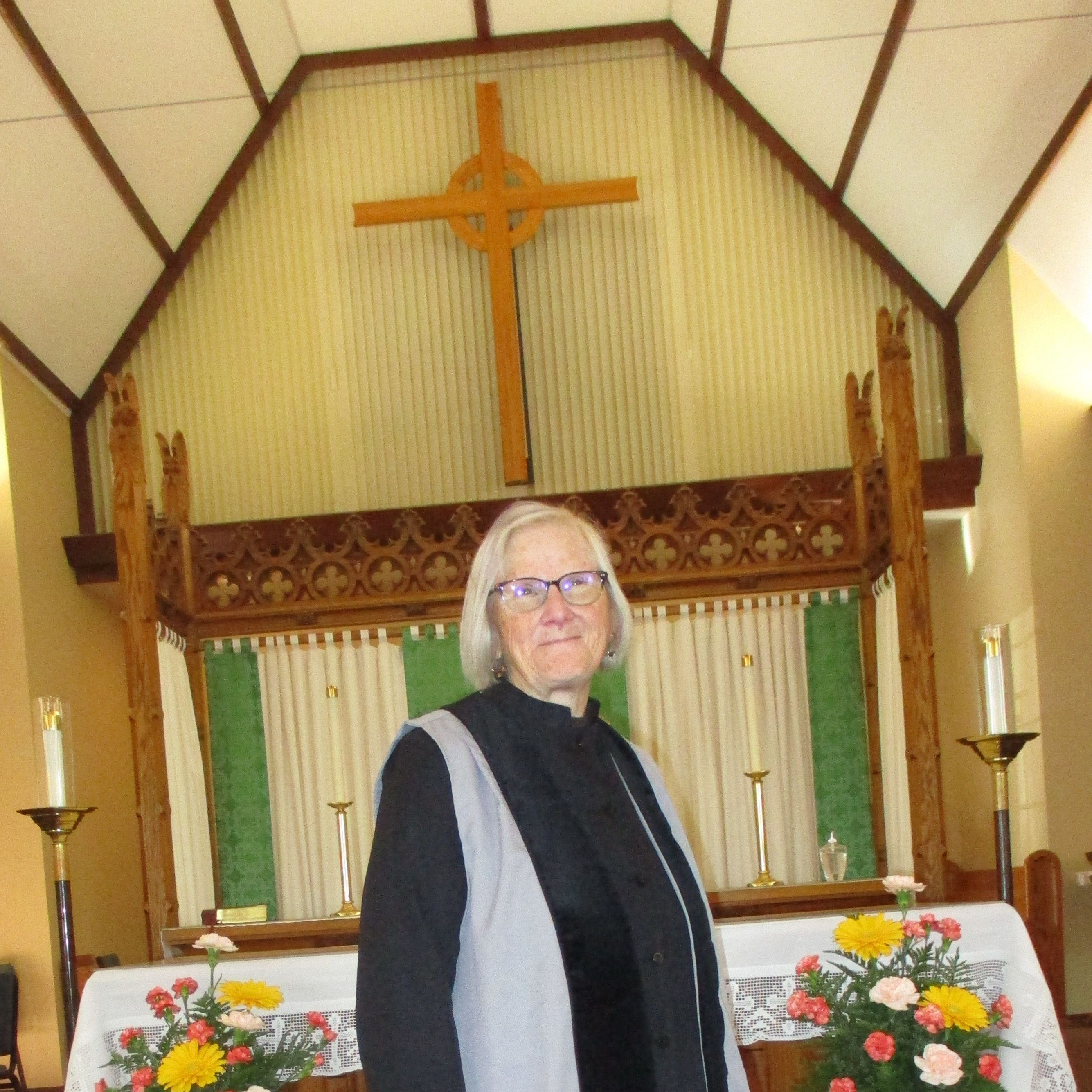 Photo of Miriam Baskin, Verger